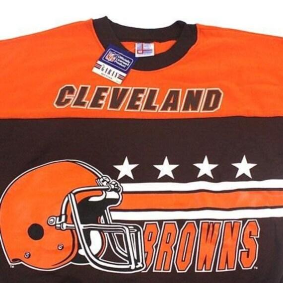 7c2e5d3d4 Vintage Cleveland Browns NFL Football sweatshirt by Garan made