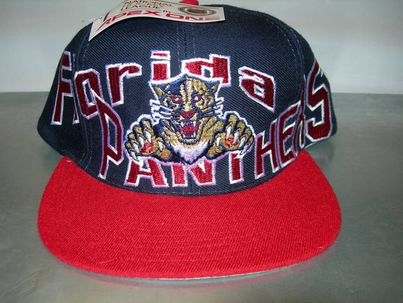 finest selection 3a99a a39b7 Florida Panthers NHL hockey snapback cap vintage by Apex new   Etsy
