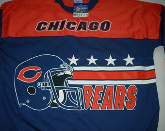 Vintage Chicago Bears NFL football sweatshirt by Garan made in the USA New with tags