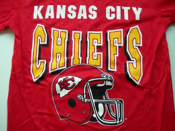 Kansas City Chiefs vintage nfl football