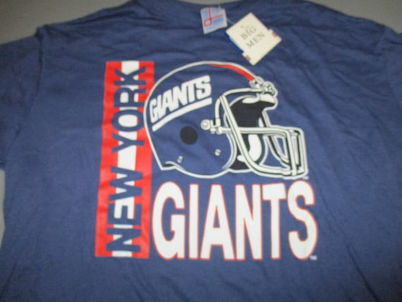 the best attitude 3d646 f9d37 Vintage New York Giants NFL big men football t shirt by Garan made in USA  new with tags