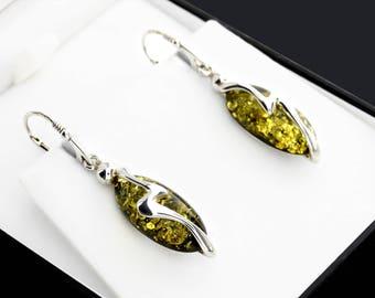 Boho Green Earrings For Gift, Green Dangle Earrings, Dangle Green Stone Earrings, Boho Green Stone Earrings, Best Boho Earrings
