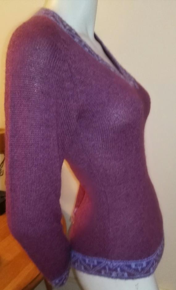 Vintage 100% Baby Alpaca Sweater Peru Size XS