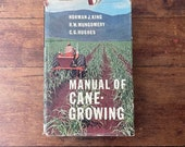Manual of Cane Growing Hardcover Book 1965 Vintage 60s Agriculture Australia