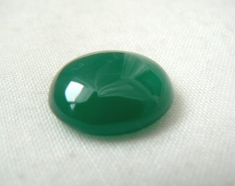 Oval Green agate Cabochon - P288