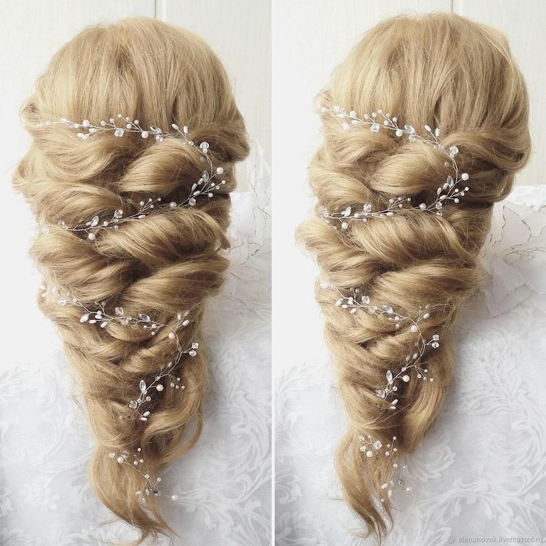 Free shipping!!Extra Long Hair Vine,Bridal Hair Vine,Wedding Hair Vine,Crystal Hair Peice,Bridal Jewelry,Hair vine.wedding hair vine.
