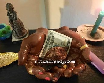Big Muva's Hands Altar Offering Bowl