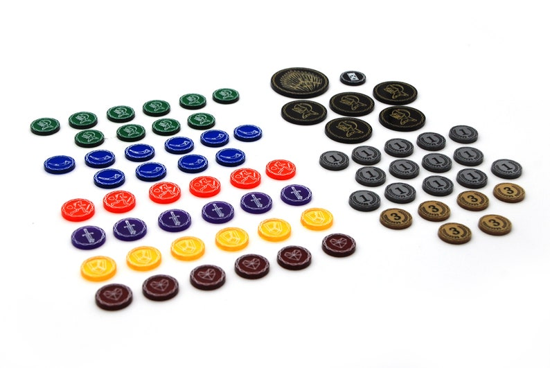Set of Tokens compatible with Song of Ice and Fire