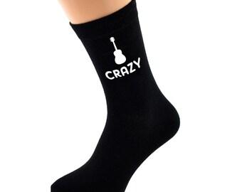 Birthday//Age Novelty Socks Est In 1948 Black Socks