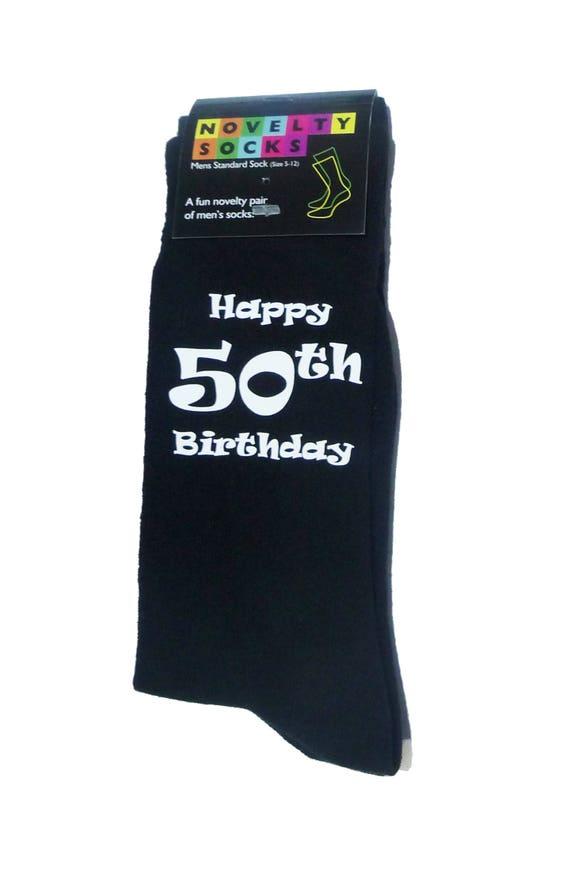 Papá feliz 30 Diseño Impreso Para Hombre Negro calcetines gran 30 Aniversario Regalo