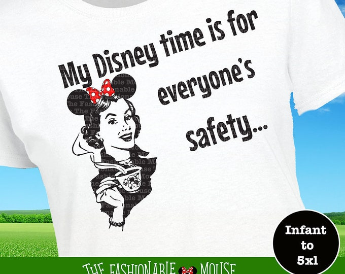 Ladies Disney Shirt, Funny Disney Shirt, Disney Coffee Shirt, Disney Mom Shirt, Disney Mom Gift, Ladies Minnie Shirt, Unique Disney Shirt