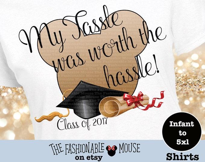 Disney Graduation Shirt Gift, Disney Diploma Shirt, Grad 2017 Shirt, Class Of 2017 Shirt, Mickey Graduation Tank, Mickey Graduation Shirt