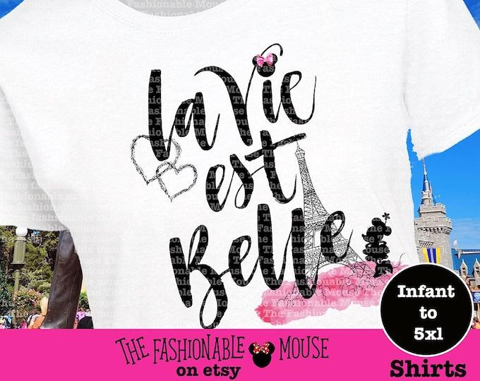 Disney Paris Minnie Shirt, Disney International Shirt, Minnie Paris Shirt