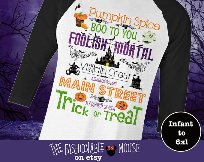 Disney Halloween Shirt  / Mickeys Halloween Party  / Custom Disney Halloween Shirts / Disney Halloween T Shirts Adults