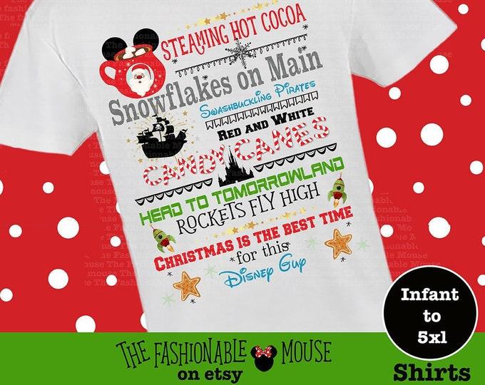 Disney Cocoa Shirt, Disney Christmas Boy Shirt, Christmas At Disney Shirt, Disney Castle Boy Shirt, Disney Christmas Shirt, MVMCP Shirt