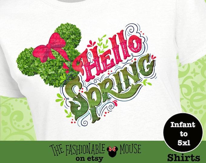 Epcot Festival Tank, Disney Floral Shirt, Epcot Flower And Garden Festival Shirt, Epcot Flower Shirt, Disney Spring Shirt