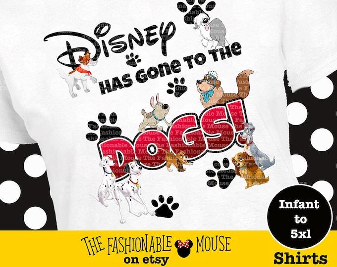 Disney Dog Shirt, Disney Puppy Shirt, Lady Shirt, Tramp Shirt, Max Shirt, Oliver Shirt, Disney Dog Tank, Disney Puppy Tank