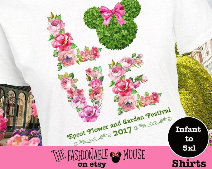 Disney Epcot Festival Shirt, Disney Floral Shirt, Epcot Flower And Garden Festival Shirt, Epcot Flower Shirt, Epcot Floral Shirt