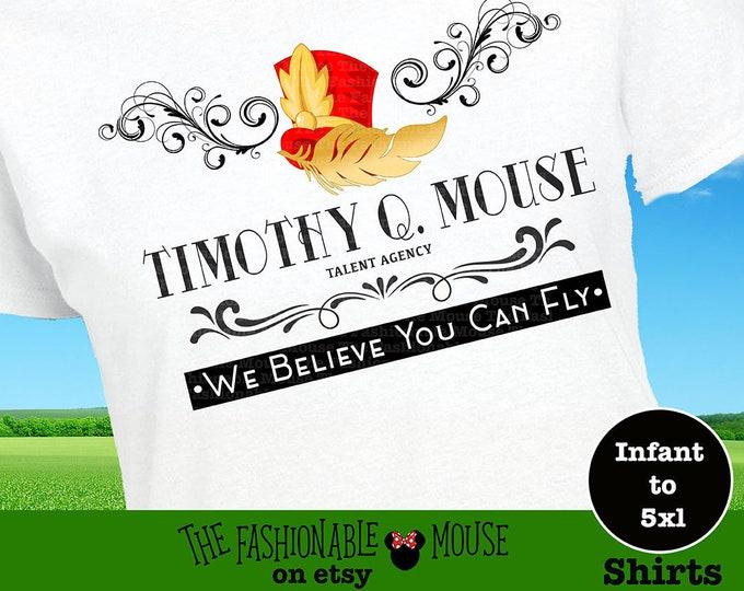 Dumbo Shirt, You Can Fly Shirt, Timothy Mouse Shirt, Disney Ride Shirt, Disney Movie Shirt, Disney Animal Shirt, Disney Believe Shirt