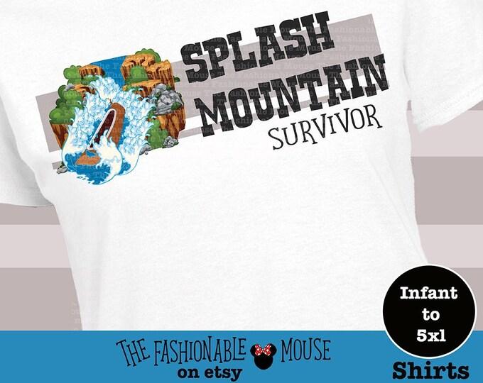 Splash mountain shirt, Magic Kingdom Shirt, Disney Splash Mountain Shirt, Disney Ride Shirt, Funny Disney Shirt,
