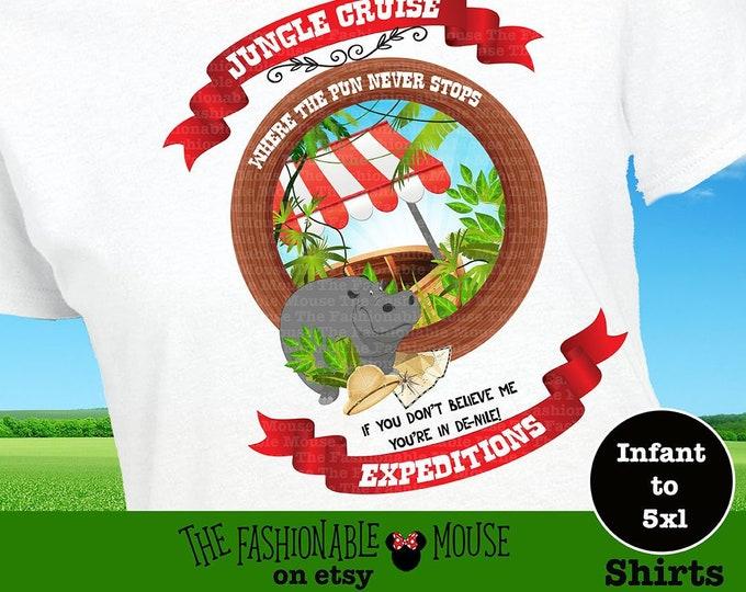 Disney Ride Shirt, Disney Pun Shirt, Jungle Cruise Shirt, Funny Disney Shirt, Disney Witty Shirt, Disney Animal Shirt