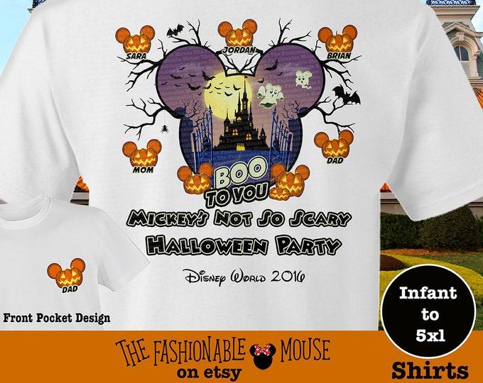 MNSSHP Shirt, Disney Halloween Castle Shirt, Disney Family Halloween Tees, Boo To You Tank, Disney Halloween Tank, Mickey Pumpkin Shirt