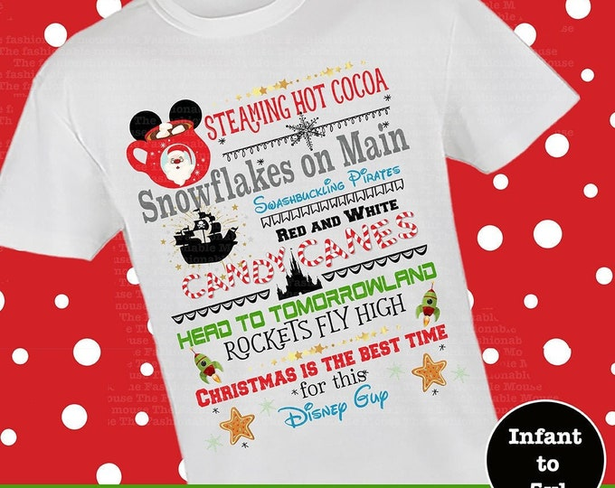 Disney Cocoa Shirt, Disney Christmas Boy Shirt, Christmas At Disney Shirt, Disney Castle Boy Shirt, Disney Christmas Shirt, MVMCP Shirt