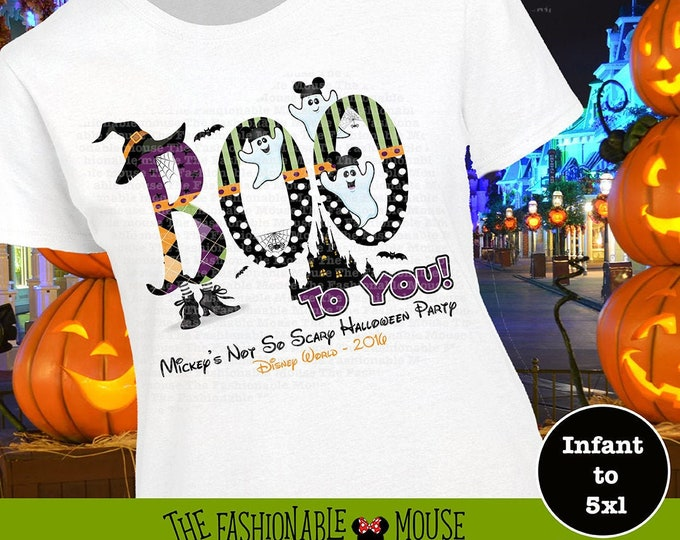 Disney Boo To You Shirt, Disney Halloween Shirt, MNSSHP Shirt, Mickey Boo Shirt, Disney Ghost Shirt, Disney Halloween Tank