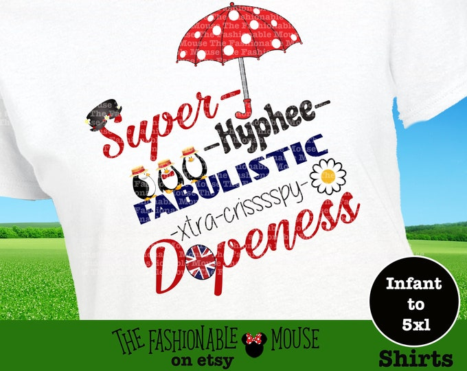 Supercali Poppins Shirt, Mary Poppin Super Hyphee Shirt, Disney What's Poppin Tee