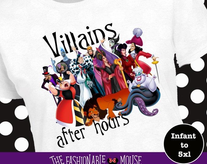 Villains After Hours Shirt