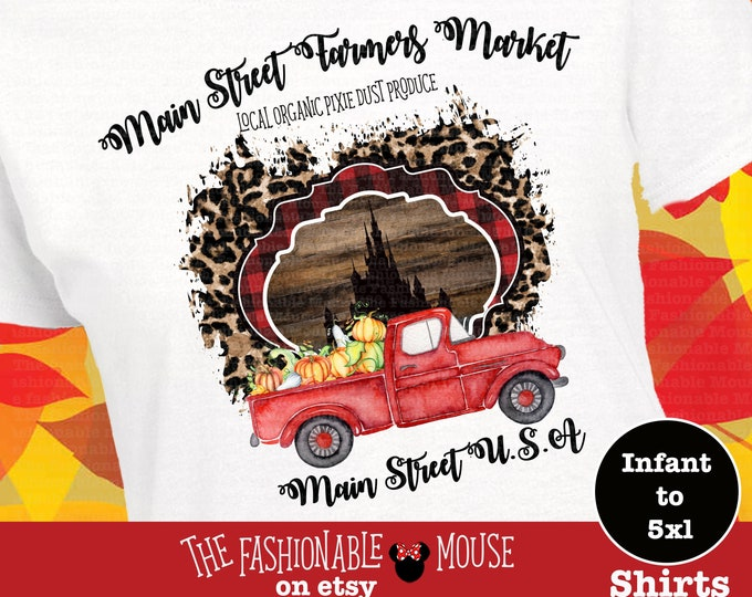 Disney Main Street Market Shirt, Gypsy Funk Disney,