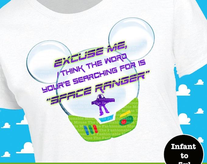 Buzz Lightyear Shirt, Toy Story Shirt,  Buzz Lightyear Tank, Disney Space Ranger Shirt, Disney Space Ranger Tank, Toy Story Tank