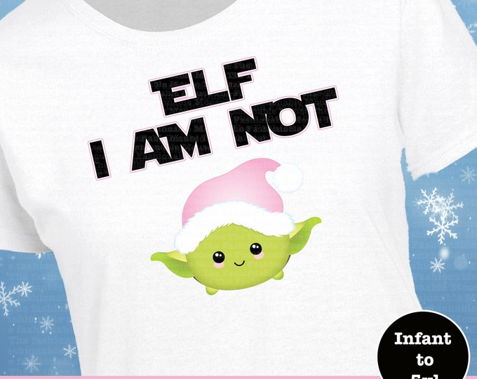 Star Wars Christmas Shirt, Yoda Elf Christmas Shirt, Disney Star Wars Christmas Shirt