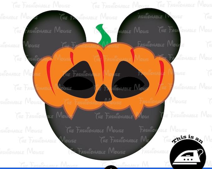 Digital Download Halloween Ghost Head