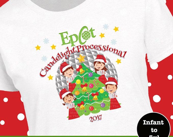 Epcot Christmas Shirt, Epcot Candlelight Processional Shirt, Epcot Christmas Tank, Epcot Candle Shirt, Epcot Tree Shirt, Epcot Tree Tank