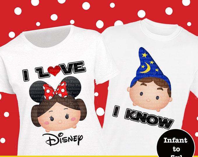 Star Wars Couple Shirts, Star Wars Tsum Tsum Couple Shirts, Star Wars Tsum Tsum Shirts