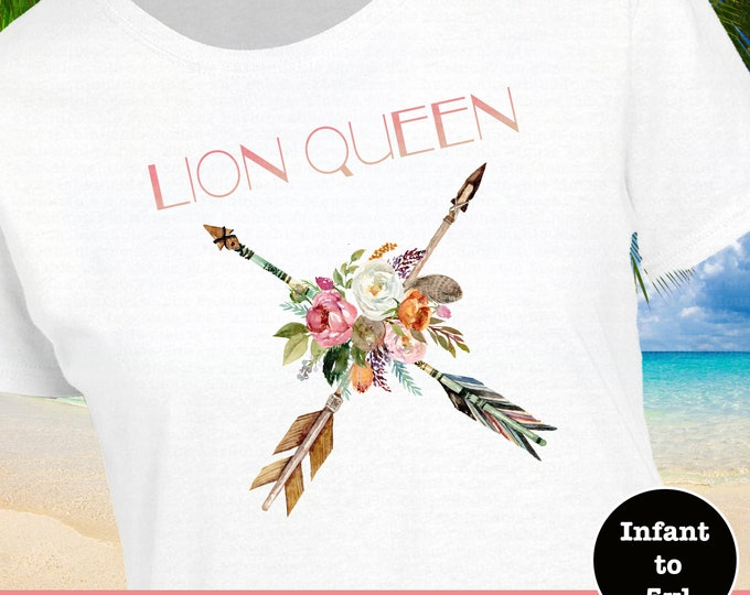 Lion Queen Shirt, Lion King Shirt, Ladies Lion King Shirt,