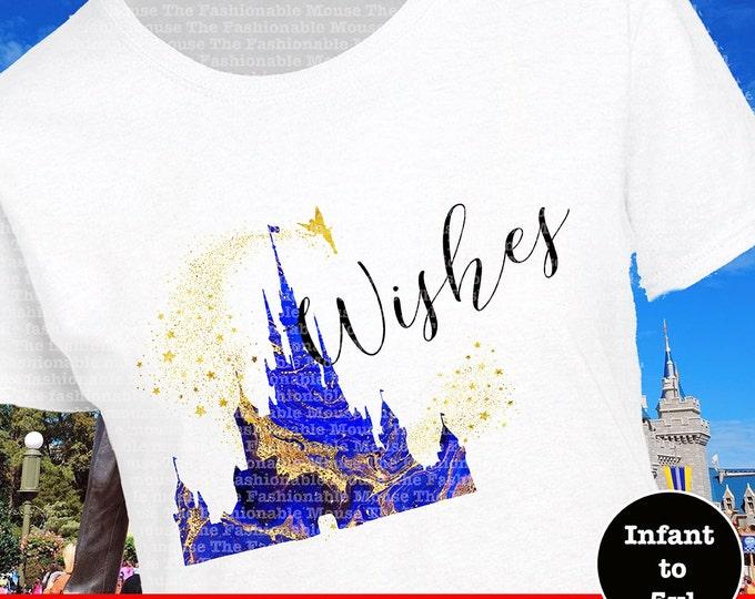 Disney Wishes Fireworks Shirt, Disney Fireworks Shirt, Disney Wishes Shirt, Disney Castle Shirt
