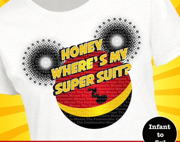 Incredibles Shirt, Incredibles Tank, Disney Superhero Shirt, Disney Superhero Tank, Super Suit Shirt, Super Suit Tank, Disney Movie Shirt