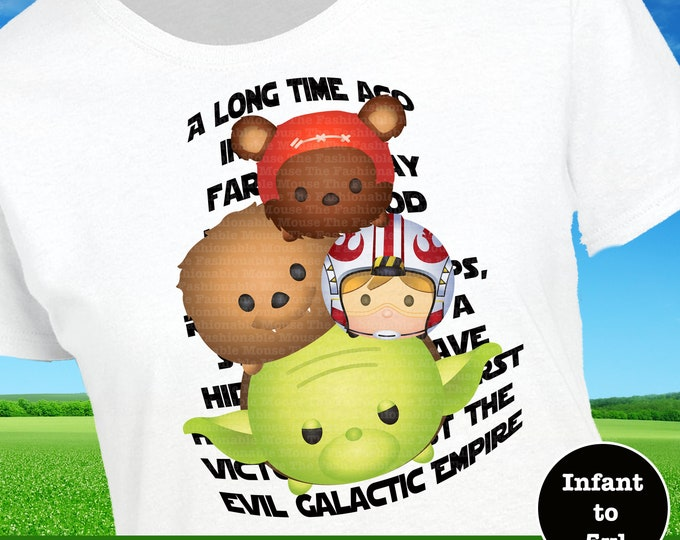 Star Wars Long Time Ago Shirt, Boys Star Wars Shirt, Yoda Shirt, Ewok Shirt, Chewbacca Shirt, Luke Skywalker Shirt