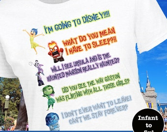 Inside Out Shirt, Inside Out Tee