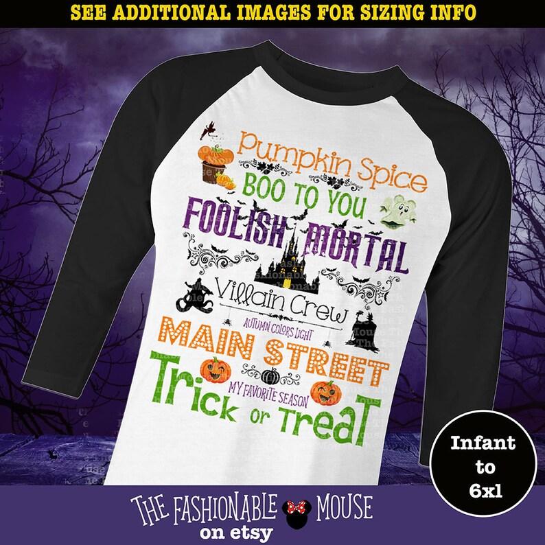 087a21d1b Disney Halloween Shirt / Mickeys Halloween Party / Custom | Etsy