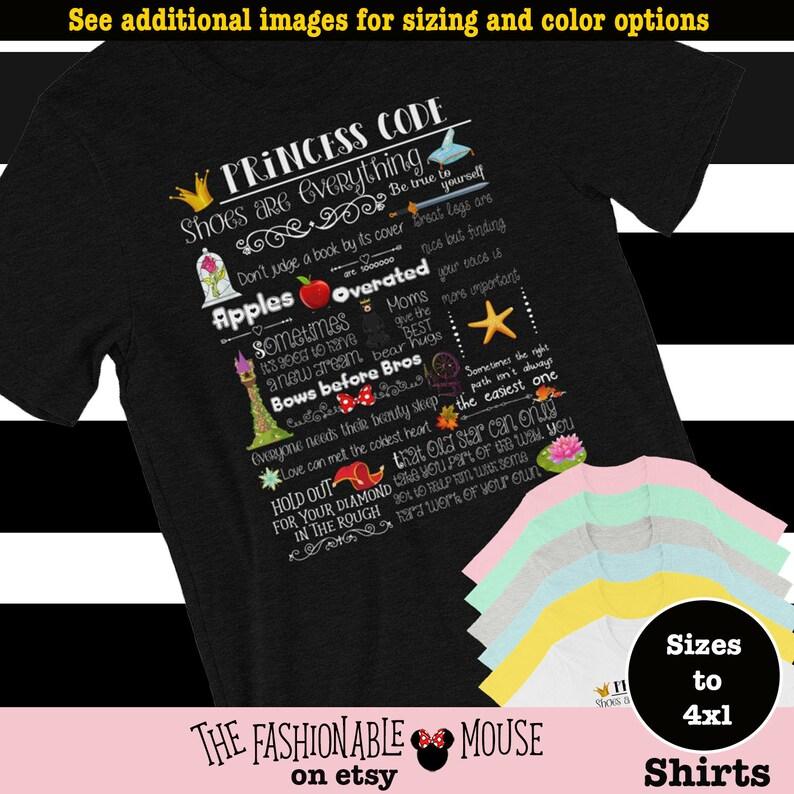 Disney Princess Girl Code Shirt, Disney Girl Shirt, Disney Lover Shirt,