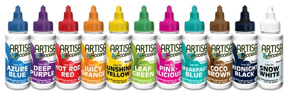 Artisan Accents 2oz. Food Coloring Color Gel Food Coloring   Etsy