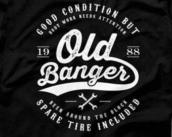 30th Birthday Shirt Gift Ideas For Him Personalized T 30 Years Old Banger 1988 Mens Tee DAT 1298