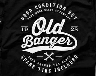 90th Birthday Gift Ideas Shirt Present For Him Custom T 90 Years Old Banger 1928 Mens Tee DAT 1286
