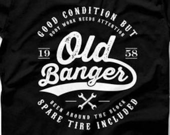 60th Birthday Gifts For Him Funny Shirt Present T 60 Years Old Banger 1958 Mens Tee DAT 1292