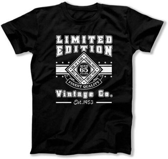 Funny Birthday Gifts For Men 65th Shirt Custom