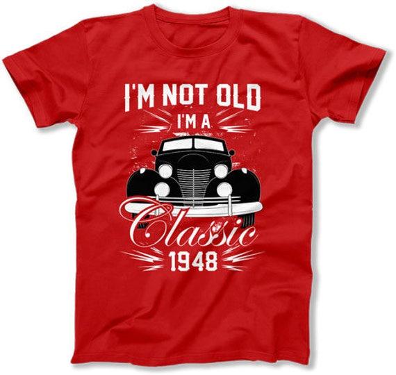 70th Birthday Shirt Bday Gift Ideas Custom Year