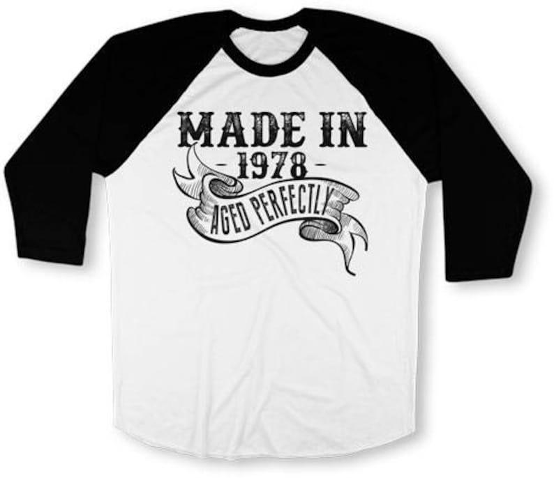 40th Birthday T Shirt For Him Gifts Men 3 4